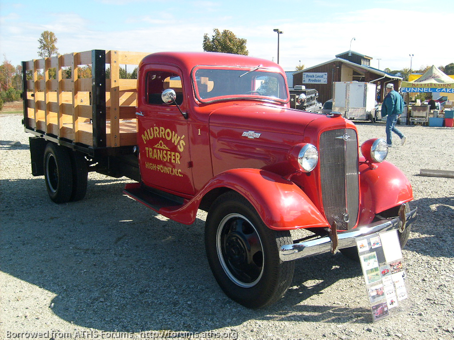 1937 chevy truck 1 5 ton